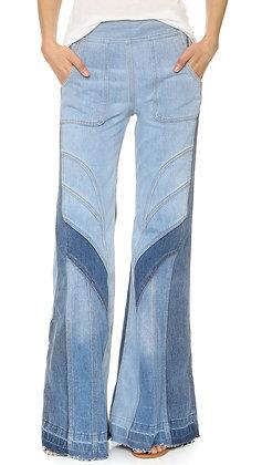 Women's Vintage Bell Bottom Jeans
