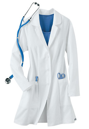 Buttoned Lab Coat