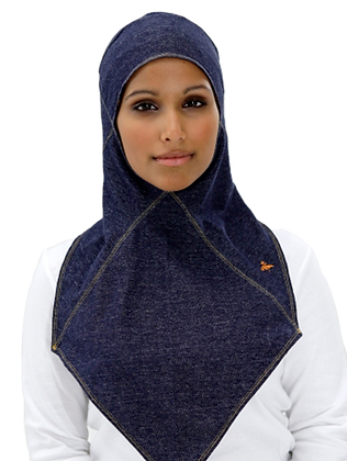 Straight Denim Hijab