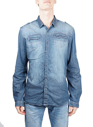 Men's Vintage Denim Shirt