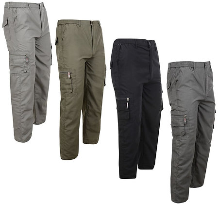 Zipper Pocket Work Trousers