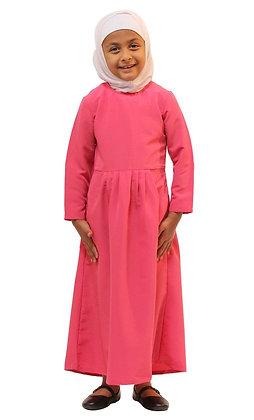 Girls Pink Abaya