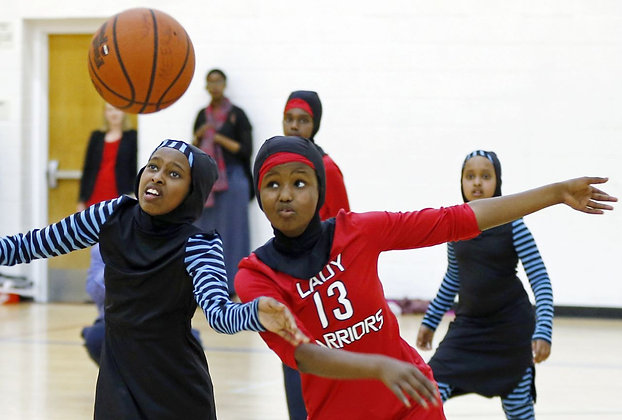 Girls Team w/Hijab