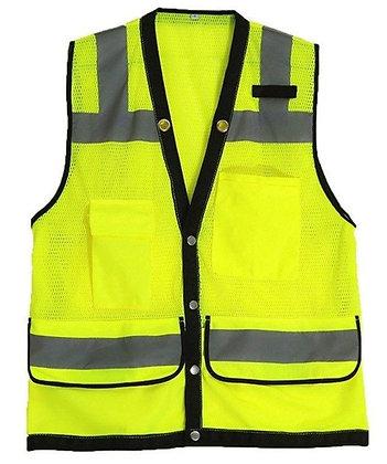 Bright Pockets Safety Vest