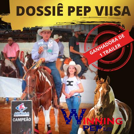 DOSSIÊ PEP VIISA – filha do único SUPER HORSE, WINNING PEP EJB