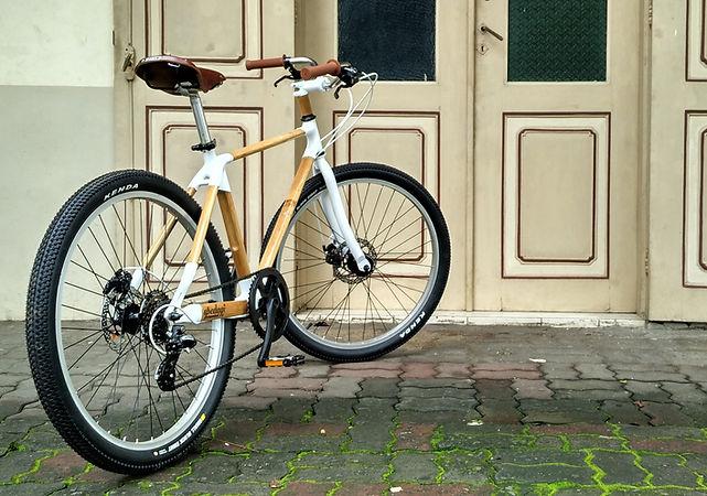 Spedagi Bamboo Bike Sepeda Bambu Jengki Jenki Temanggung Produk Lokal Indonesia