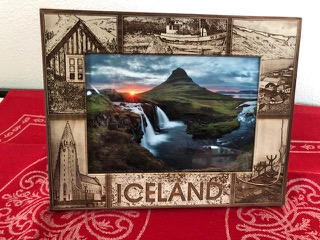 Iceland Picture Frame
