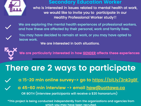 Healthy Professional Worker Study