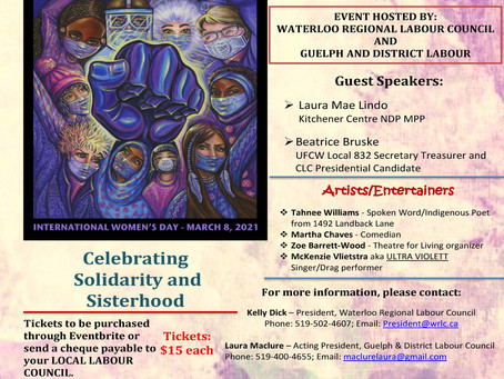 Free Tickets to IWD Virtual Event March 7