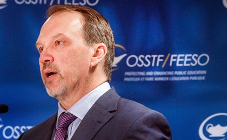 Message about Bargaining to all OSSTF Members from President Harvey Bischof