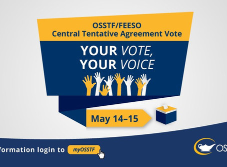 VOTE on Tentative Central Agreement