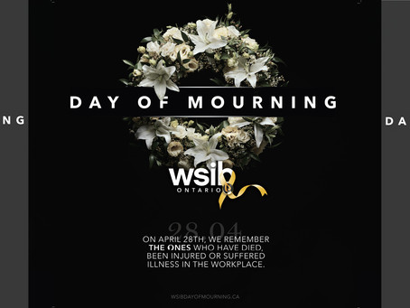 National Day of Mourning April 28 2020
