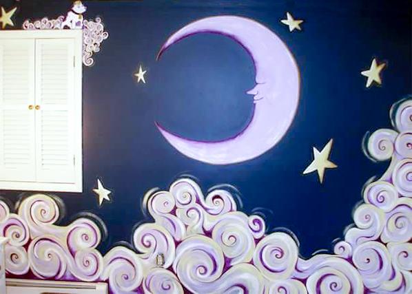 Celestial mural