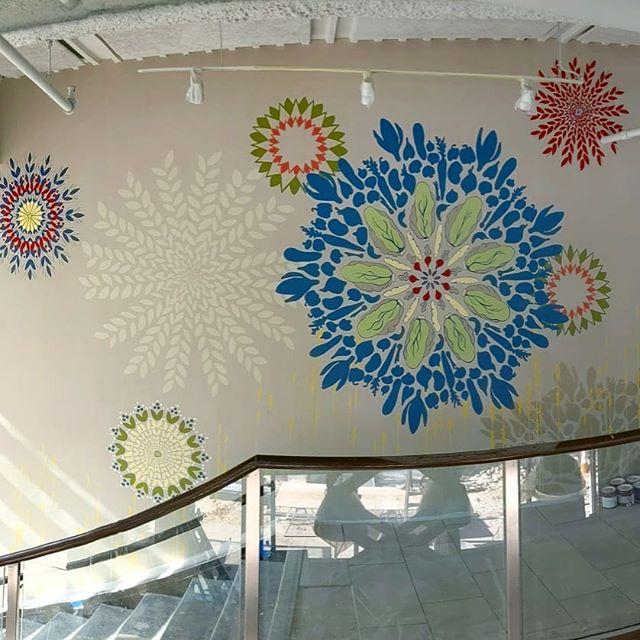 #philly #Panera #mural _#finished #huzza