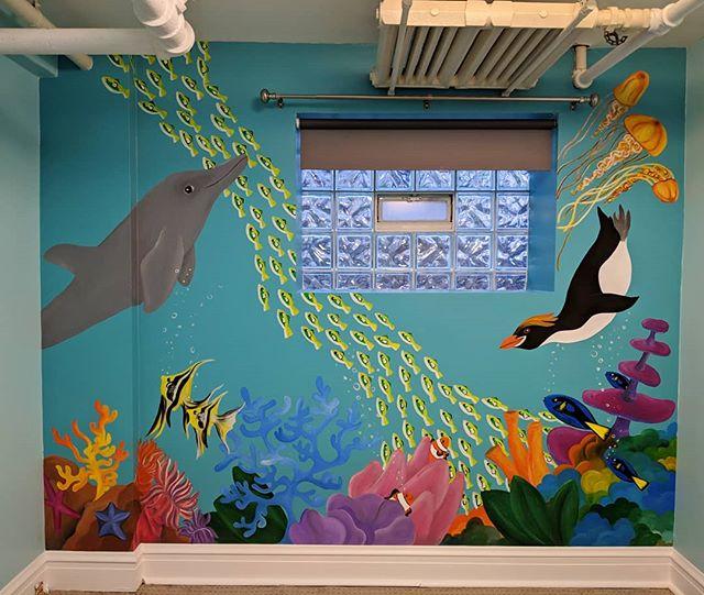Just finished this #adorable #aquarium #