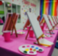 Let's paint!_#paintingparty #unicorn #sm