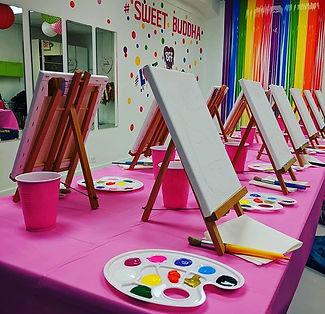 Let's paint!_#paintingparty #unicorn #sm
