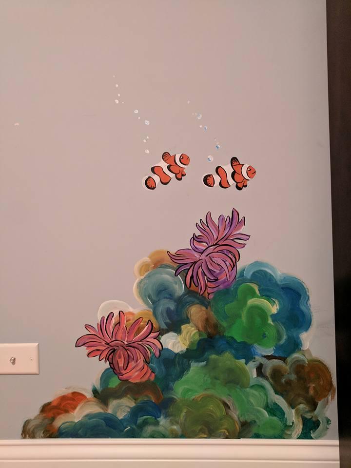 Matthew's mural