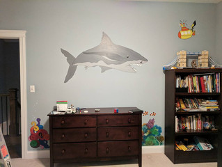 Sharks and Pickles and Painting, Oh My!