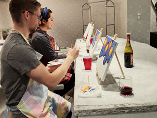 Painting parties galore!