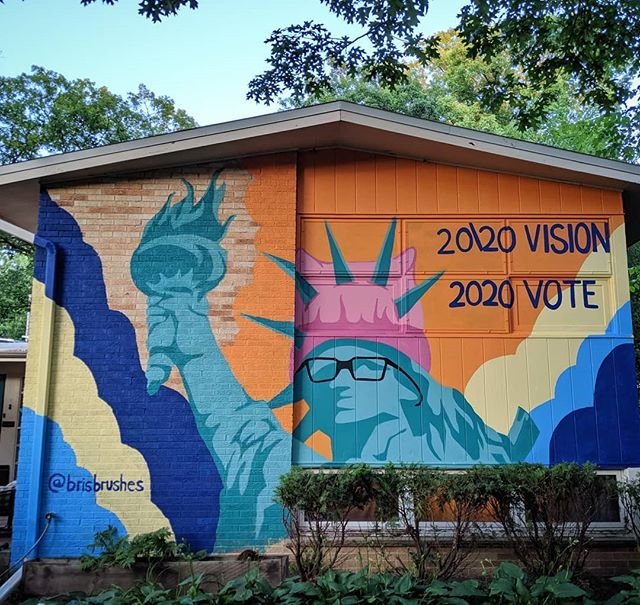 The #resist #mural is complete! _#art #a