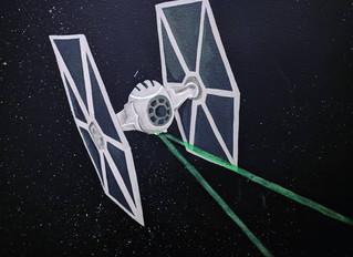 Pew pew pew! Star Wars mural for Rishik!