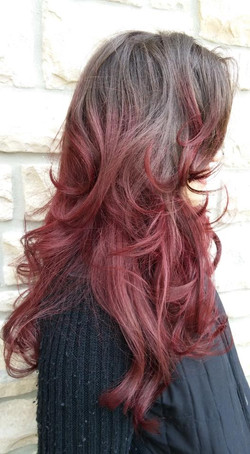 Red Ombre'