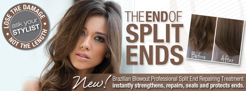 Brazilian Blowout Split End Corrector