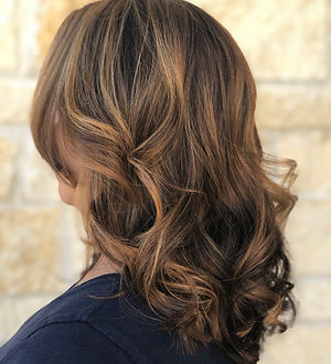 Base Color, Balayage, Cut and Style