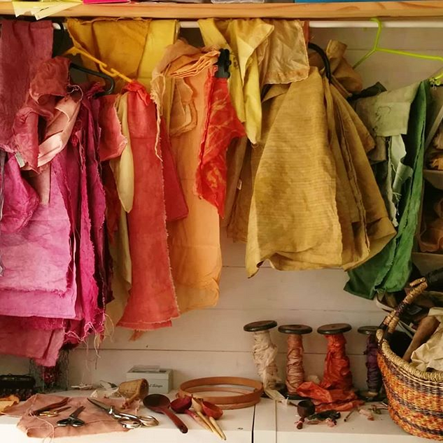 _Natural dyed Fabrics