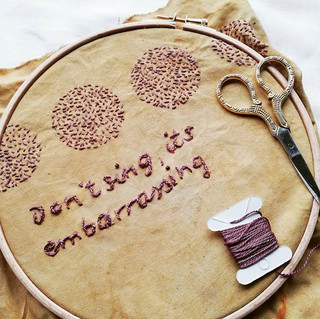 _Don't sing, it's embroidery__#myrepairp
