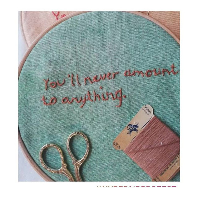 You'll never amount to anything