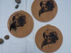 Skull Triptych