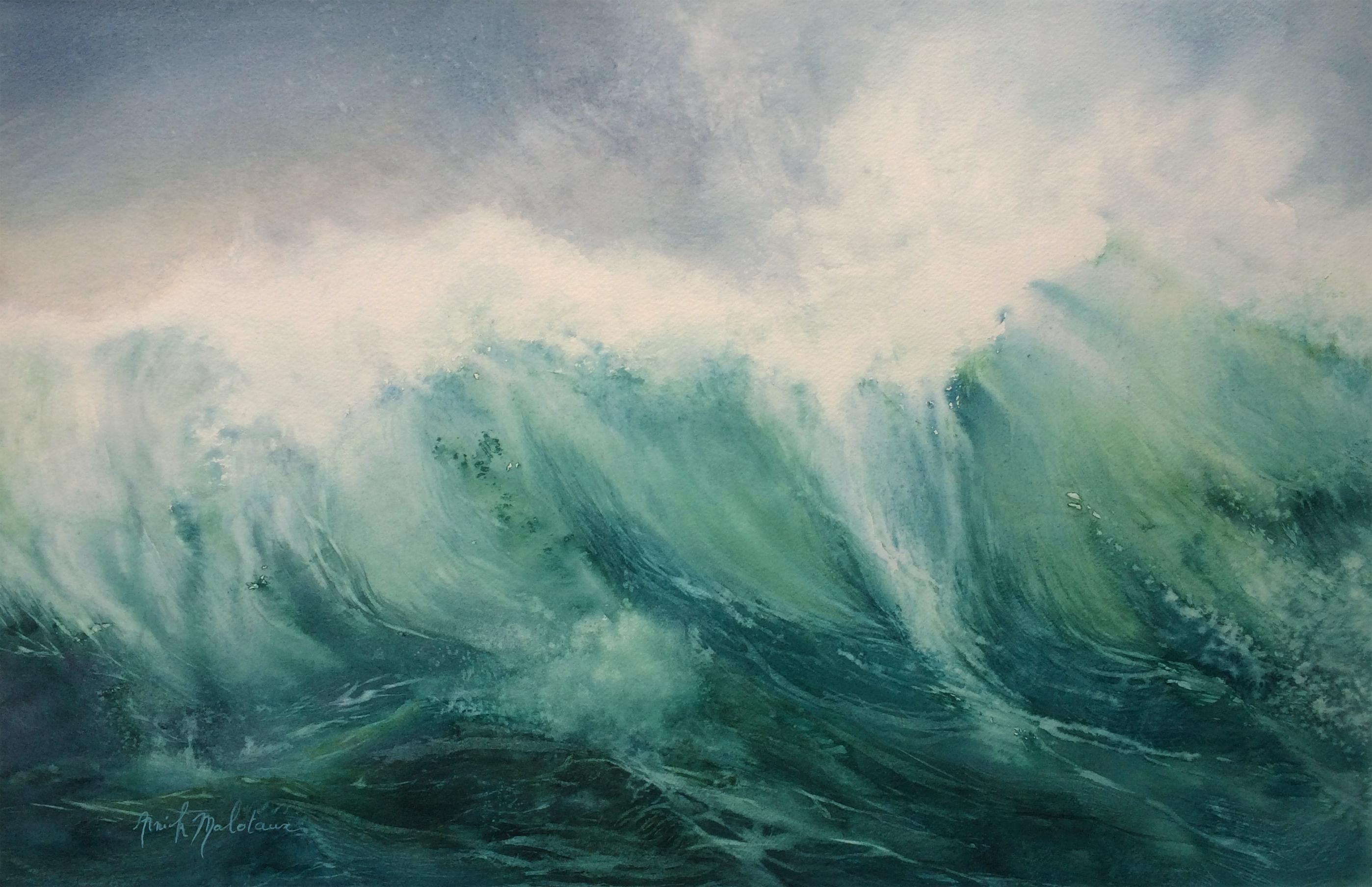 Un morceau de l'océan