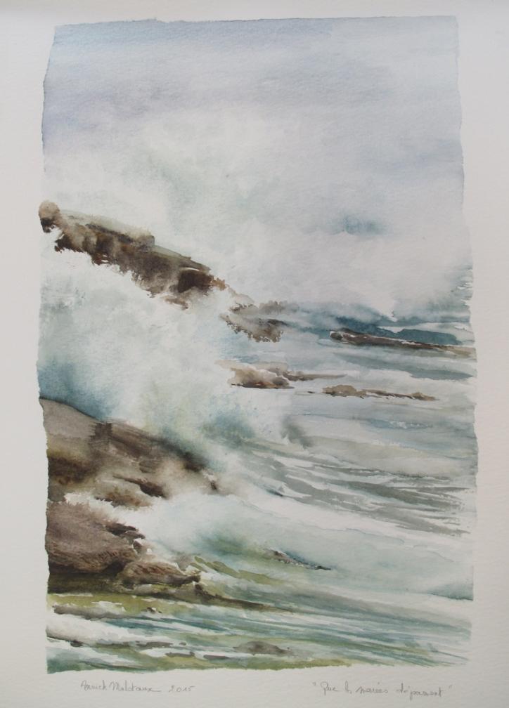 Que les marées dépassent