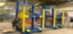 GM 3 station rack indexer henshaw
