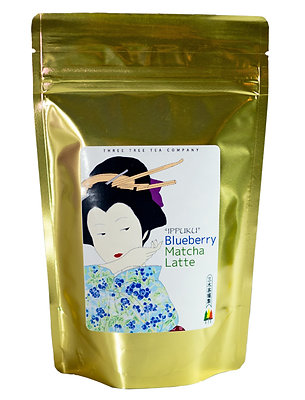 Blueberry Matcha Latte     8oz Bag