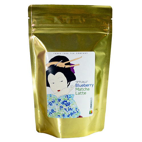 Wholesale Blueberry Matcha Latte