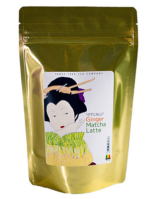 Ginger Matcha Green Tea Latte 8oz Bag