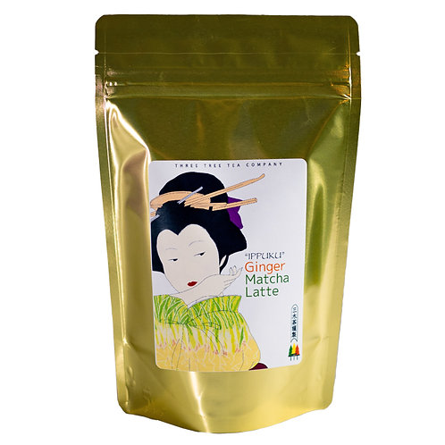 Ginger Matcha Green Tea Latte 1LB Bag