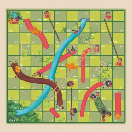 Chutes and Ladders Recreation