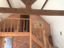 Oak Staircase fitted in Nottingham