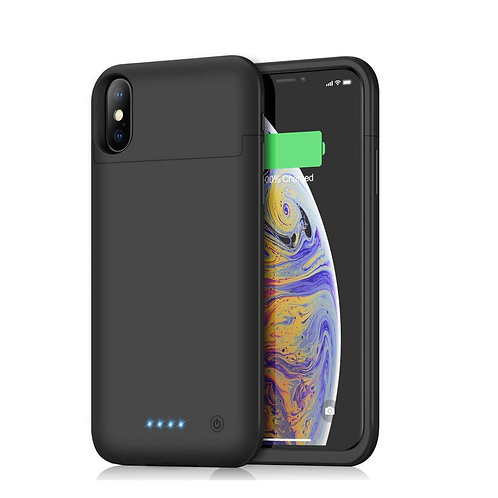 EXTERNAL BATTERY CASE FOR IPHONE XS MAX 5000MAH