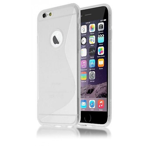 S-LINE GEL BACK CASE SKIN COVER FOR IPHONE 6/6S IN CLEAR