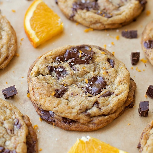 Orange and Chocolate Cookie