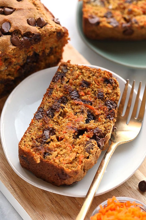 Carrot & Chocolate Loaf to share
