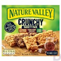 NATURE VALLEY CRUNCHY VARIETY PACK CEREL BARS 5 X 42 G (210 G)