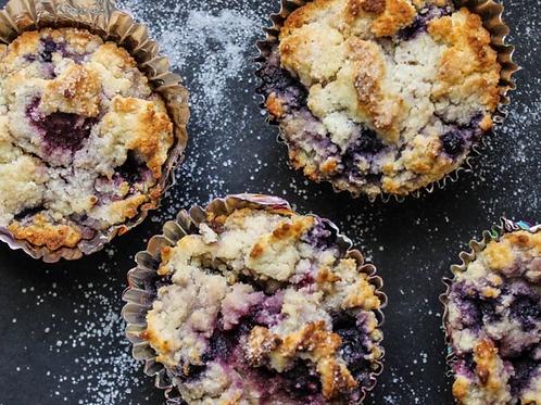Mixed Berry Muffin (vegan)