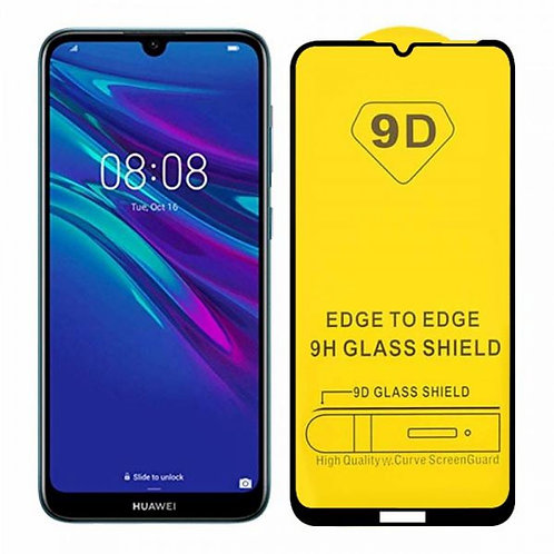 COMPATIBLE 9D TEMPERED GLASS FOR HUAWEI Y6 2019