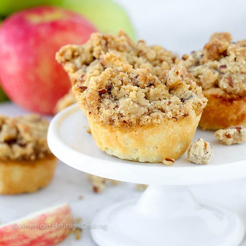 Apple Crumble Mini Pie